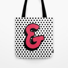 Comic Ampersand Tote Bag