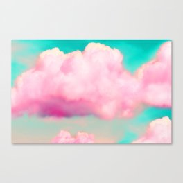 Bitch Clouds Canvas Print