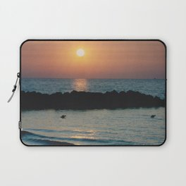 Sunset Ocean Bliss #1 #nature #art #society6 Laptop Sleeve