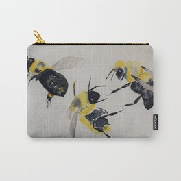 Water colour bees Carry-All Pouch