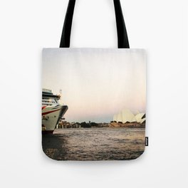 The Quay before dusk Tote Bag