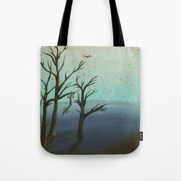 Melting Autumn Tote Bag