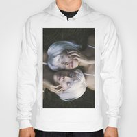 twins Hoodies featuring Twins by Jovana Rikalo