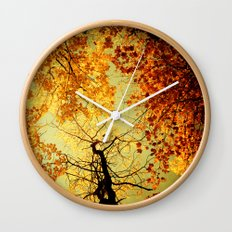 We Are Starlight, We Are Golden Wall Clock