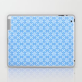 Blue Batik Blocks Laptop & iPad Skin