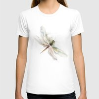 dragonfly T-shirts featuring dragonfly by tatiana-teni