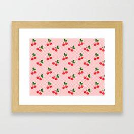 Cherry Bon Bon Framed Art Print