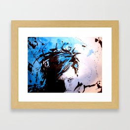 Steff Framed Art Print