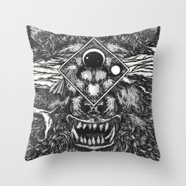 Beast Within Throw Pillow