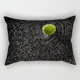 Spin Serve     Tennis Ball Rectangular Pillow