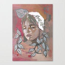 Tradescantia zebrina Canvas Print