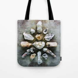 Crystalline Love Connection Tote Bag