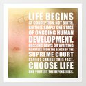 Life Begins At Conception by politics
