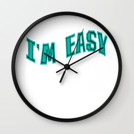 Flirt and date with this tee design. Makes a perfect naughty gift for everyone! Grab it now! Wall Clock