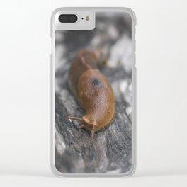 Banana Slug, Mendocino Clear iPhone Case