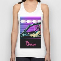 drive Tank Tops featuring Drive by Evil Twin