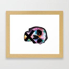 cxlxr skxll Framed Art Print