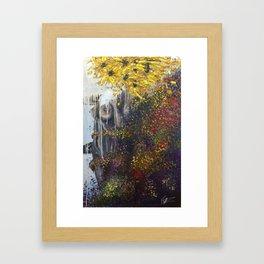 Abloom Framed Art Print