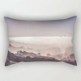 Above The Clouds | Los Angeles Rectangular Pillow
