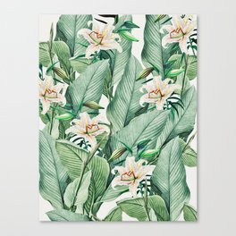 Tropical state Canvas Print
