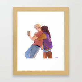 Always remember us this way Framed Art Print