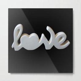 Love is the Word Metal Print