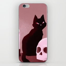 Witchy Workspace iPhone Skin