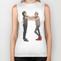 nope Biker Tanks featuring Nope. by Ashley R. Guillory