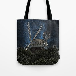 Horsey windmill Tote Bag
