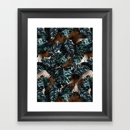 TROPICAL GARDEN X Framed Art Print