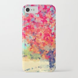 Orange Tree Watercolor  iPhone Case