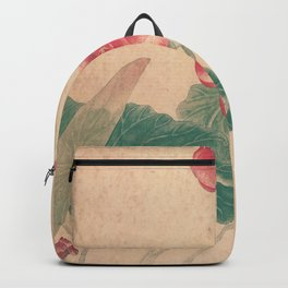 Vintage Chinese Ink and Brush Painting and Calligraphy Backpack