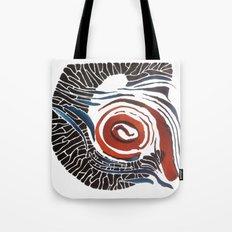 Horn-swirl Tote Bag