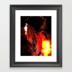Out of the Fire Framed Art Print
