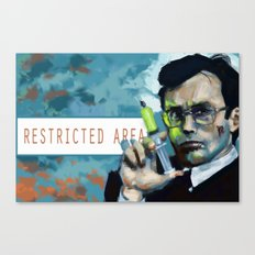 Herbert West Canvas Print