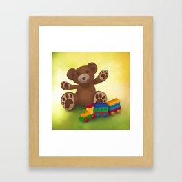 Bearhug Framed Art Print