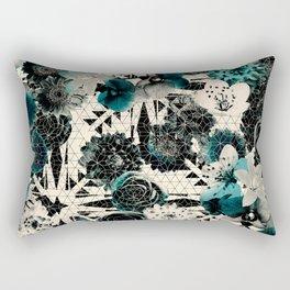 Floral GEO Rectangular Pillow