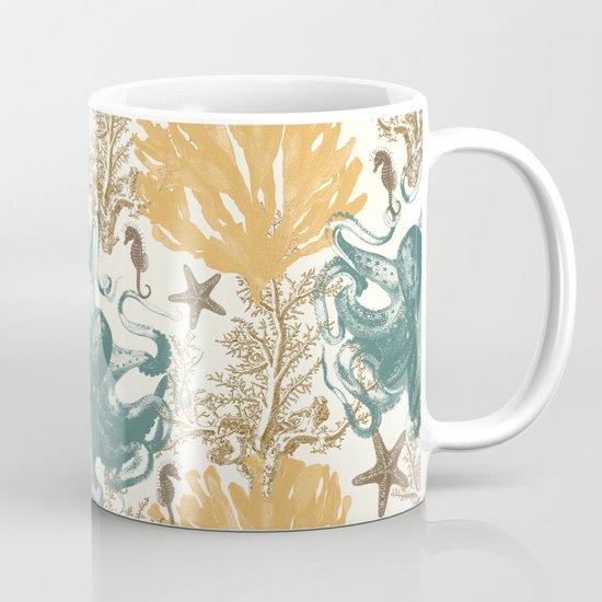 Aquatic Pattern 2 Mug