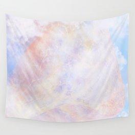 Pastel Organic Spaceship Wall Tapestry