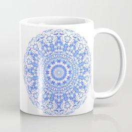 Mandala 12 / 2 eden spirit indigo blue Coffee Mug