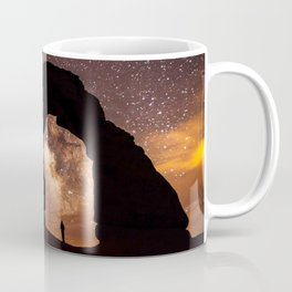 Looking up at the Sky and the Stars Coffee Mug