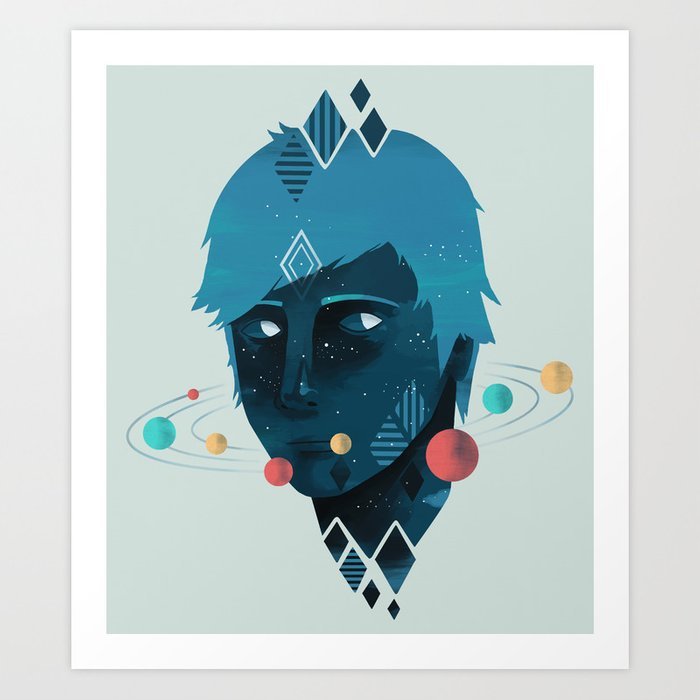 Mind/Space Art Print