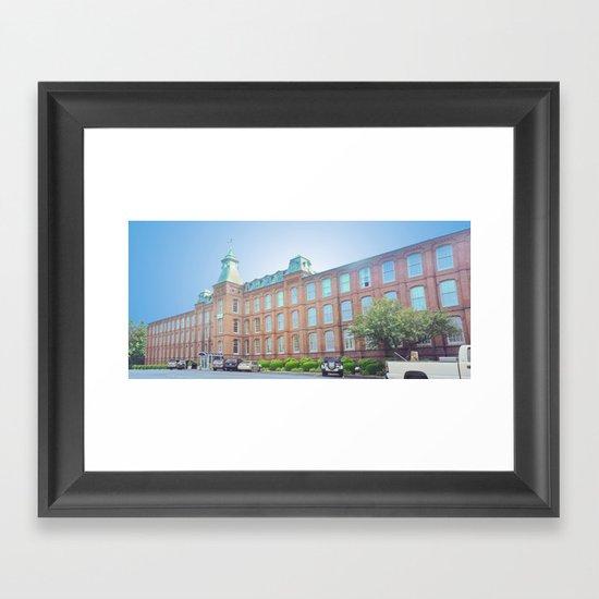 international entrepreneurship center Framed Art Print