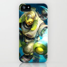over orisa watch iPhone Case