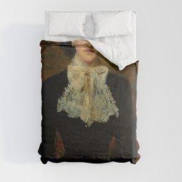 """John Everett Millais """"Countess de Pourtales, the former Mrs Sebastian Schlesinger"""" Comforters"""