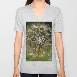 Tragopogon Wildflower Salsify Unisex V-Neck