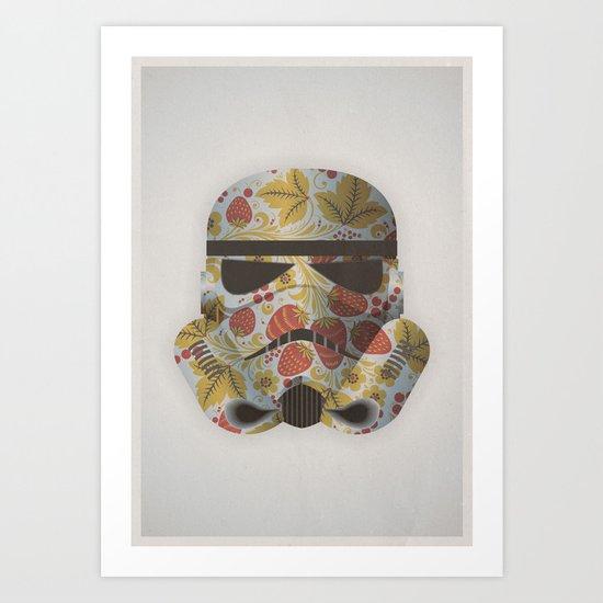 STRAWBEЯRY TROOPER Art Print