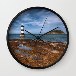 Penmon Point Lighthouse Wall Clock
