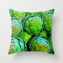 Getting 'choked up Throw Pillow