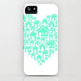 Home is love iPhone Case
